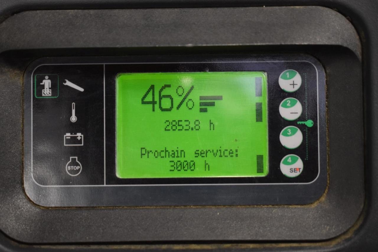 32351 LINDE L 12 LAP - AKU, 2013, volný zdvih + přízdvih, Triplex, pouze 2853 mth