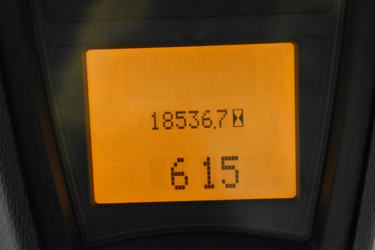 32358 LINDE H 50 T-01 - LPG, 2012, Kabina, volný zdvih