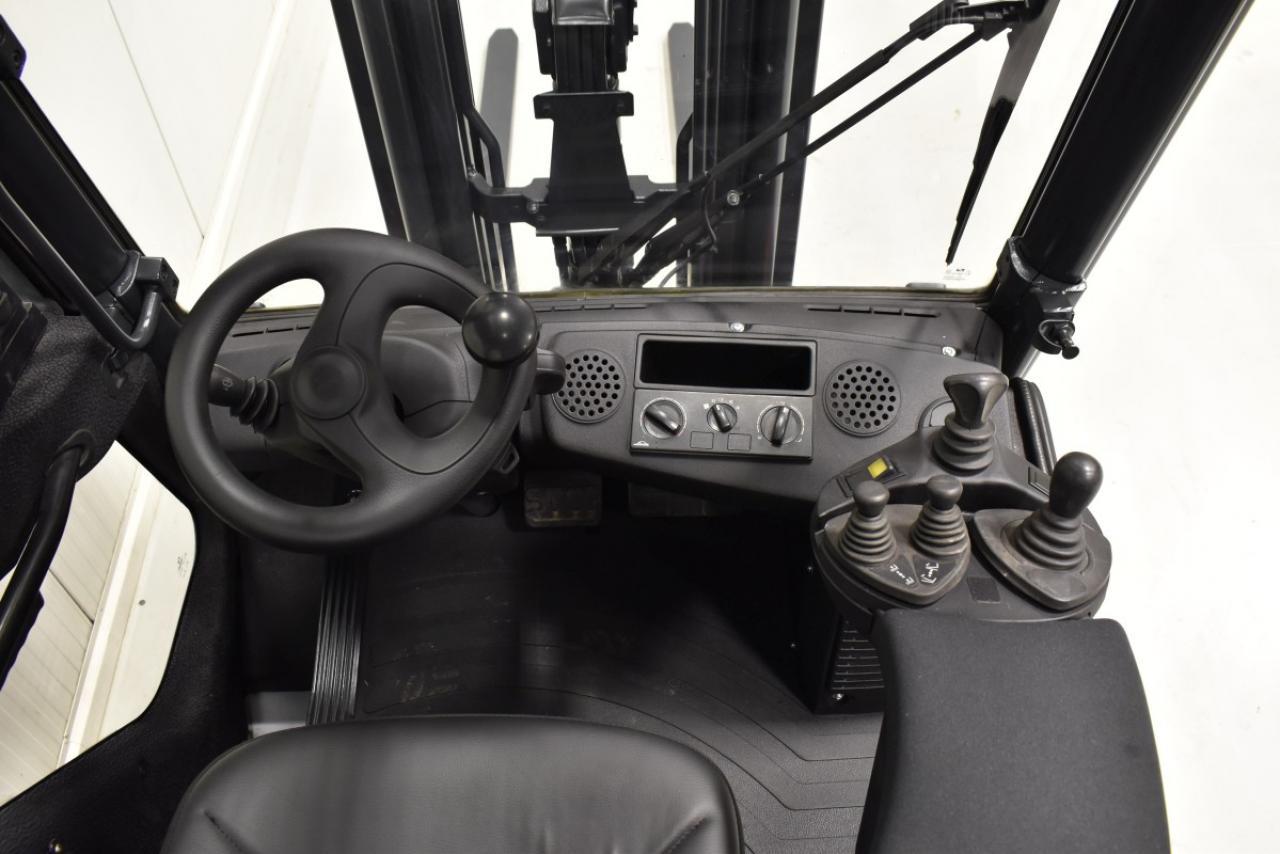 32361 LINDE H 25 T-01 - LPG, 2011, Kabina, BP, volný zdvih, Triplex