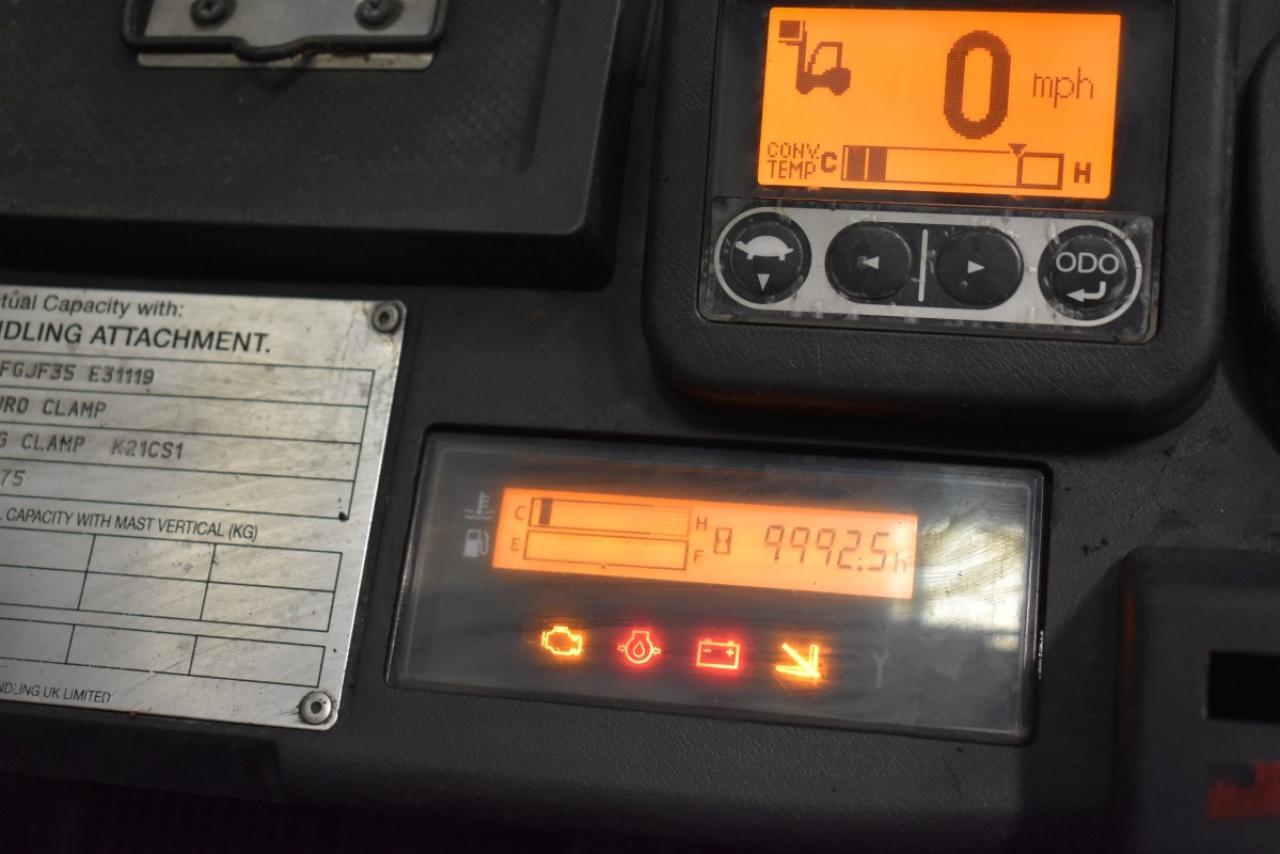 32469 TOYOTA 02-8FGJF35 - LPG, 2013, Kabina, BP