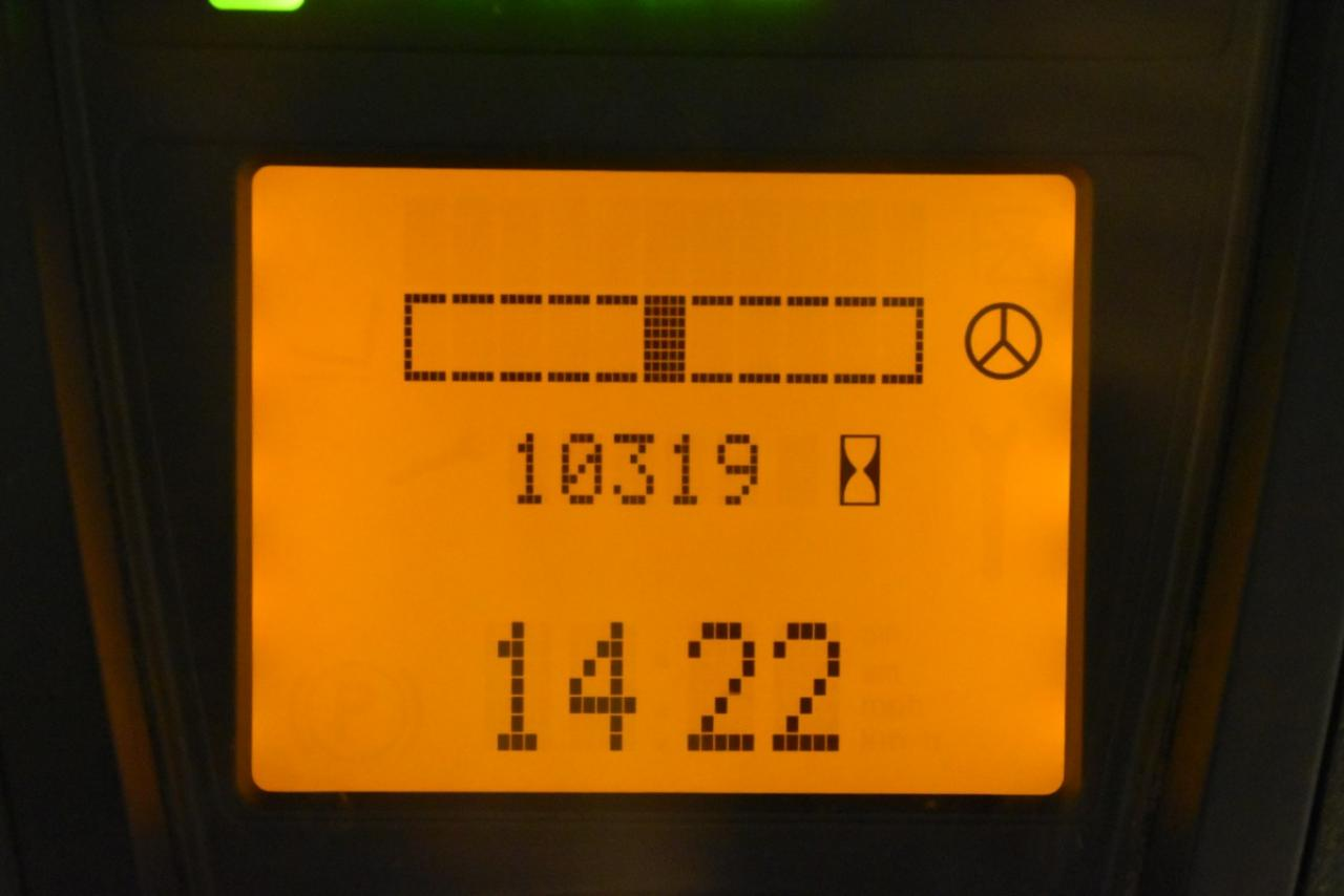 32474 LINDE E 16-00 - AKU, 2007, Kabina, BP+HSV, Volný zdvih