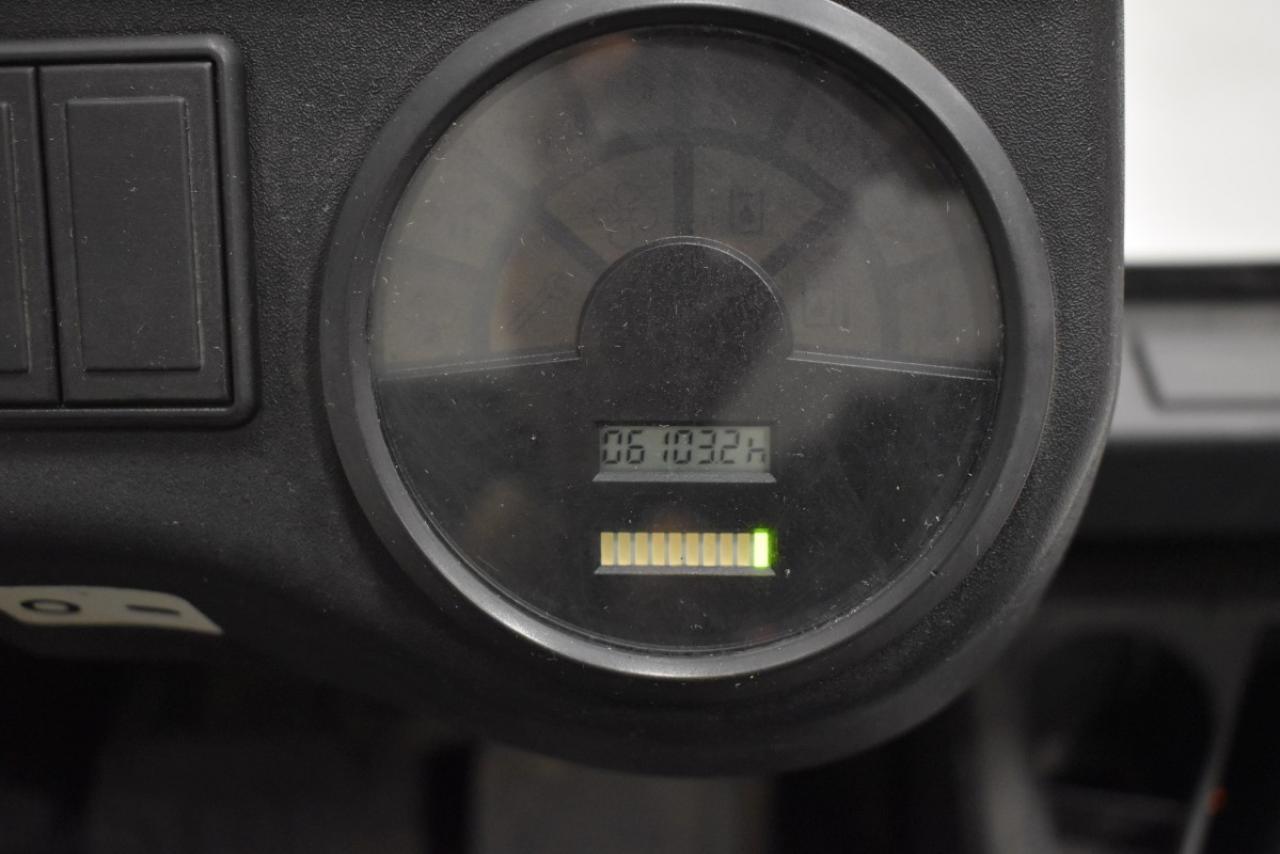 32509 LINDE E 30-02/600 - AKU, 2006, BP, volný zdvih, pouze 6103 mth
