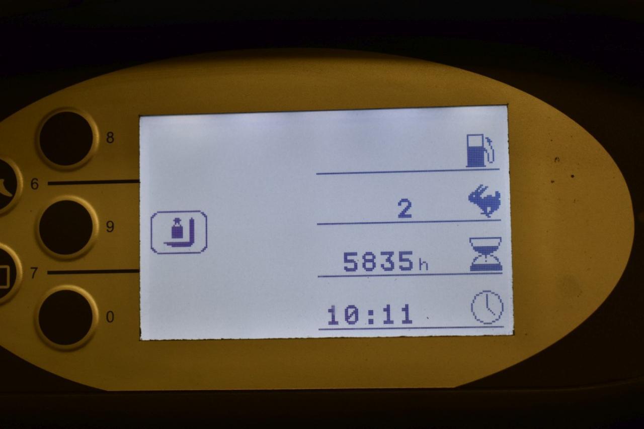 32517 STILL RX 70-25 T - LPG, 2015, BP, volný zdvih, Triplex, pouze 5835 mth