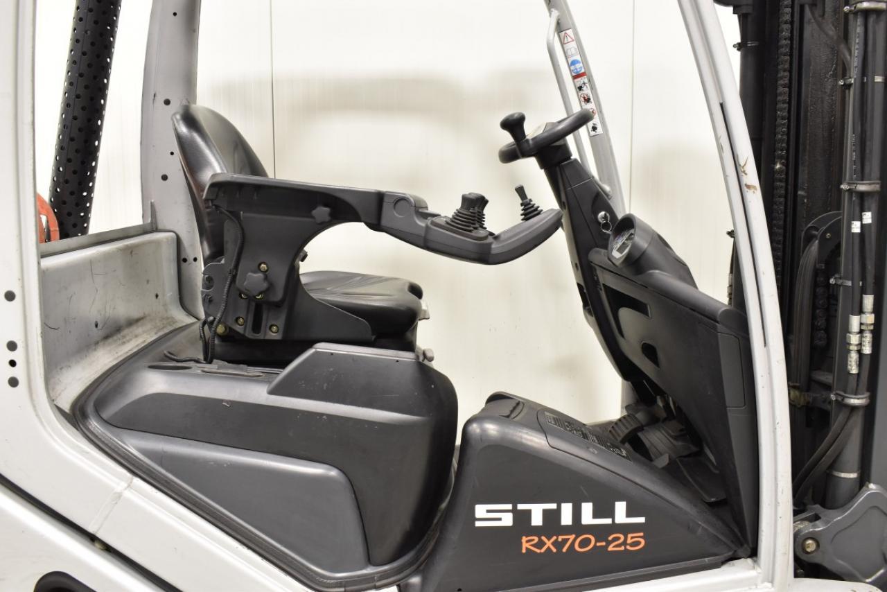 32518 STILL RX 70-25 T - LPG, 2015, BP, Volný zdvih, Triplex