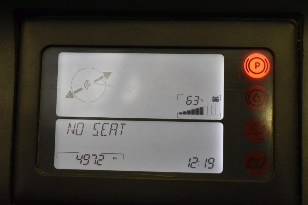 32527 LINDE R 16 S - AKU, Retrak, 2009, BP, volný zdvih, Triplex, pouze 4972 mth