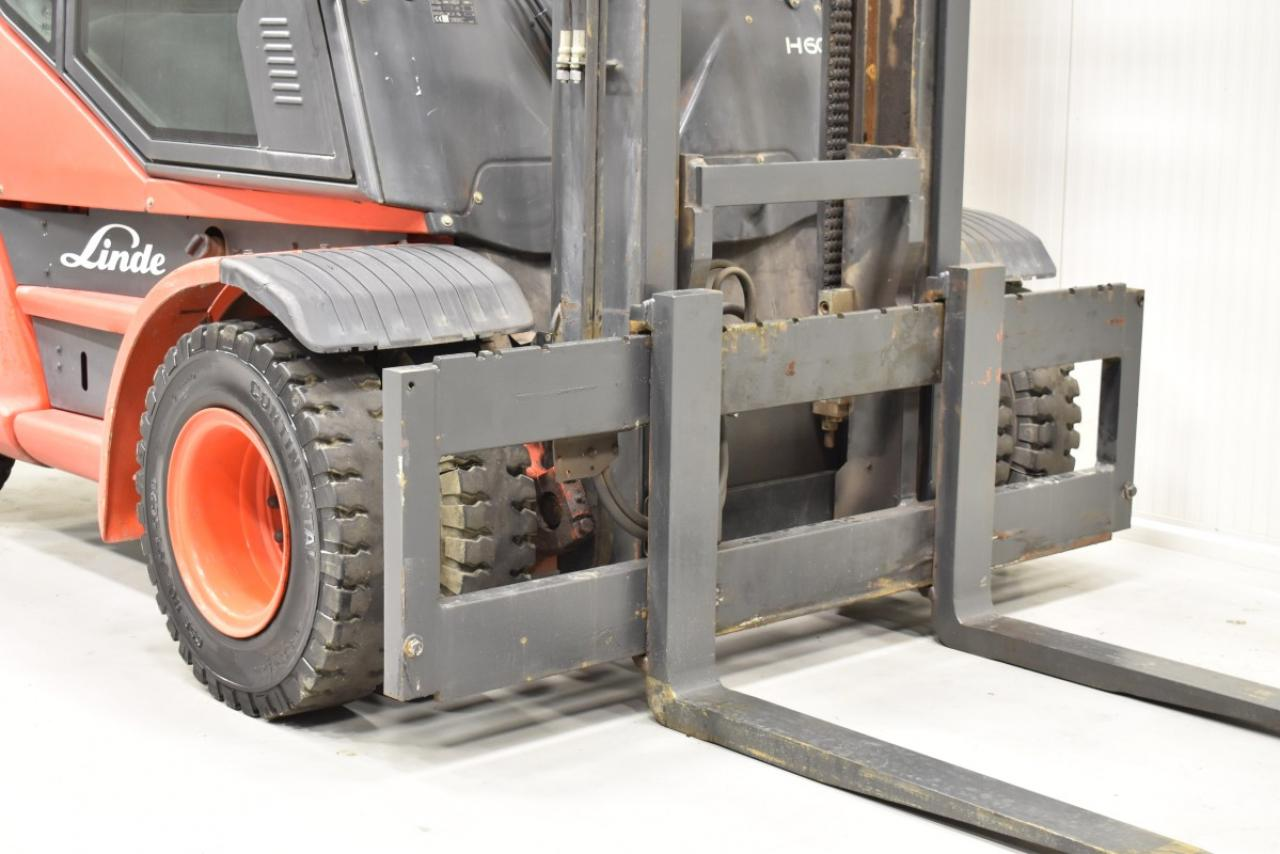 32571 LINDE H 60 D-01 - Diesel, 2012, Kabina, pouze 6659 mth