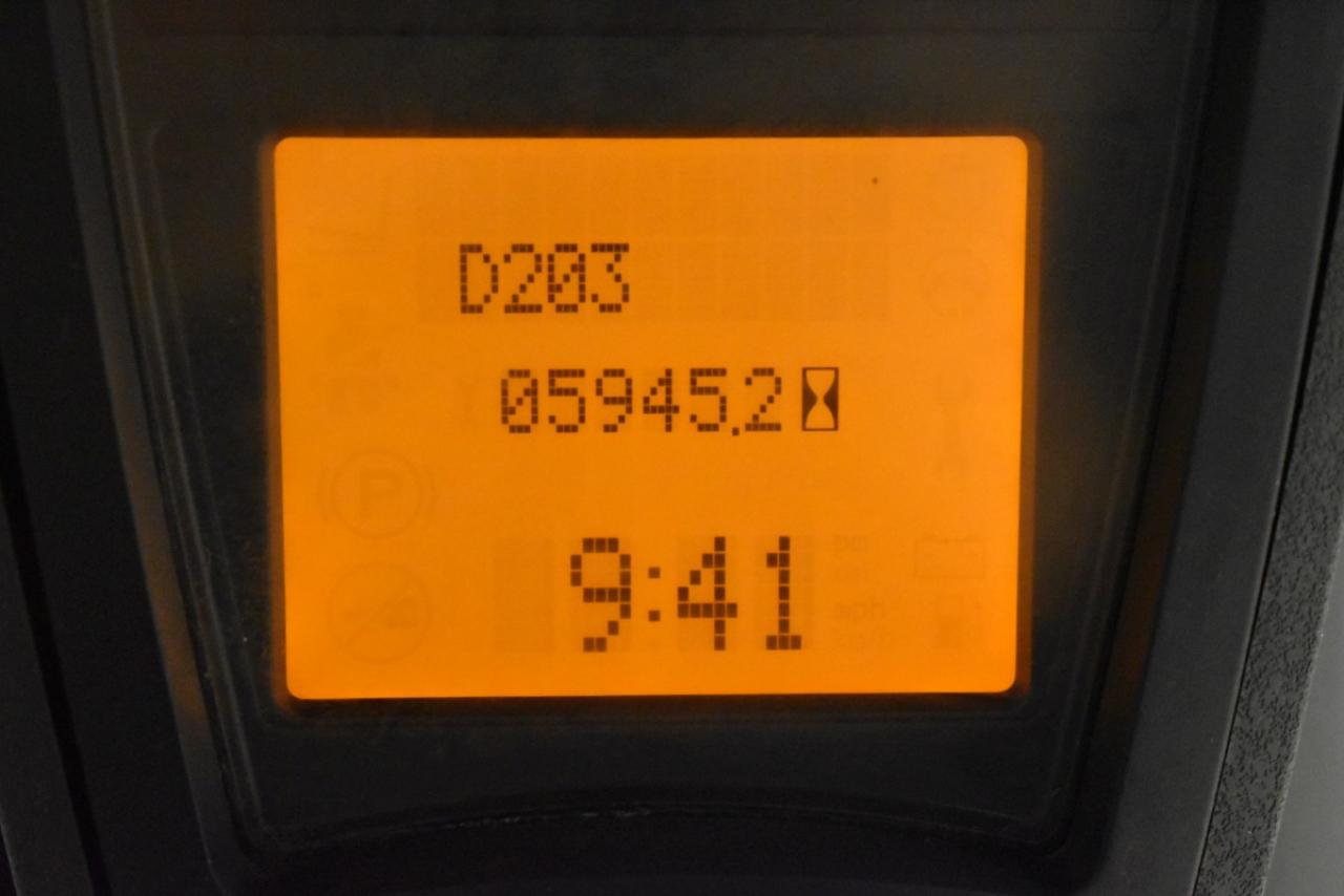 32572 LINDE H 20 T-02/600 - LPG, 2013, Kabina, BP, volný zdvih, Triplex, pouze 5945 mth
