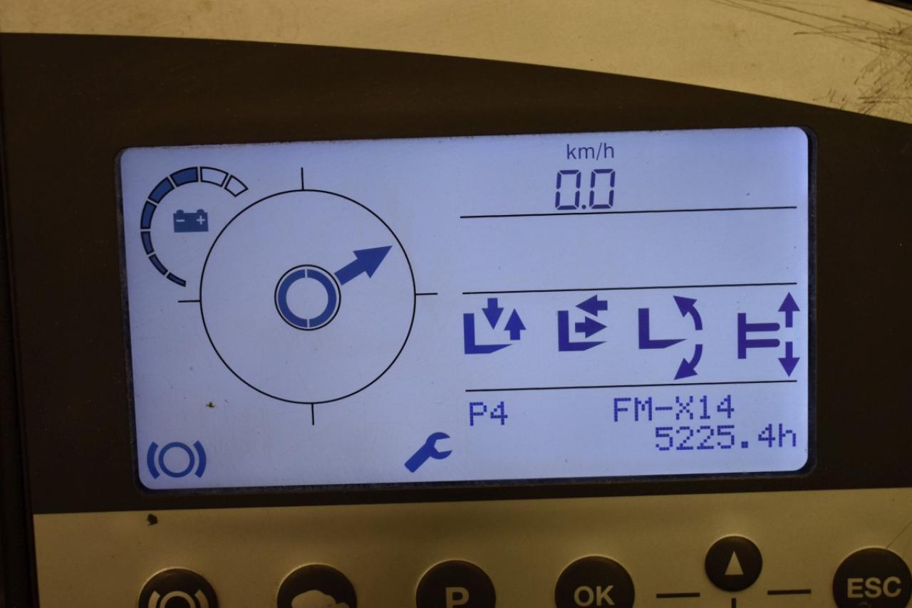 32607 STILL FM-X 14 - AKU, Retrak, 2012, BP, volný zdvih, Triplex, pouze 5224 mth