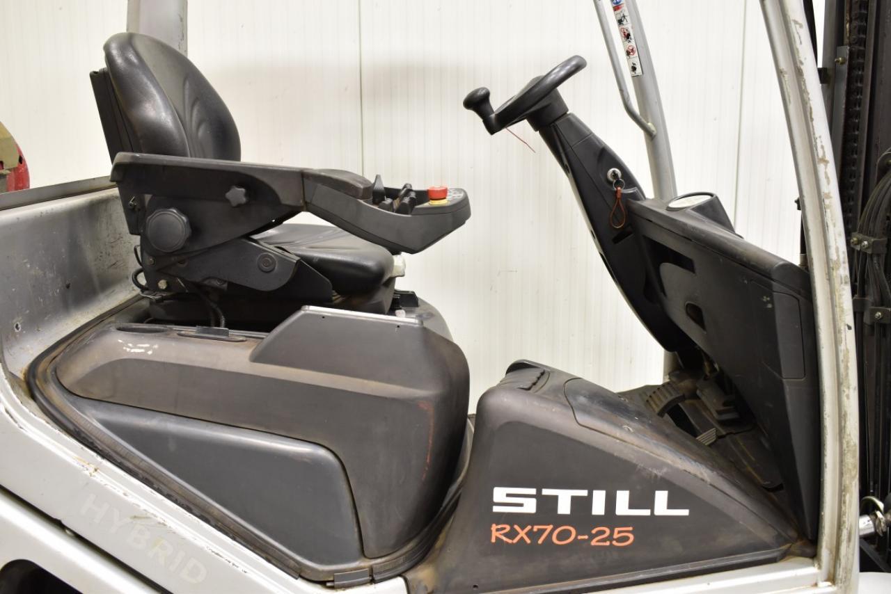 32617 STILL RX 70-25 T - LPG, 2009, BP, volný zdvih, Triplex