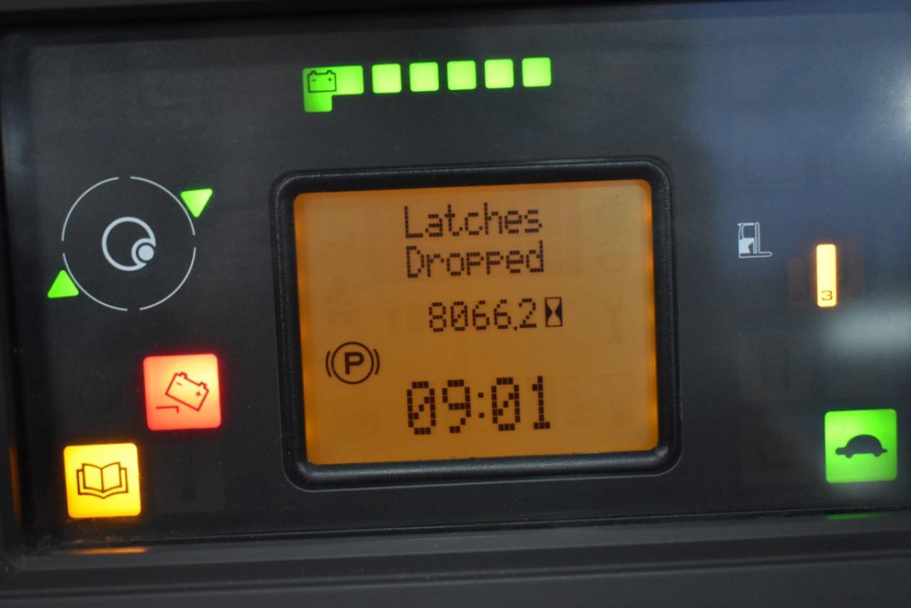 32640 LINDE R 16 HD-01 - AKU, Retrak, 2014, BP, volný zdvih, Triplex, BAT 2017