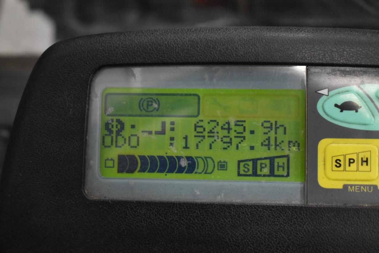 32642 TOYOTA 7FBMF30 - Battery, 2008, SS+FP, free lift, TRIPLEX