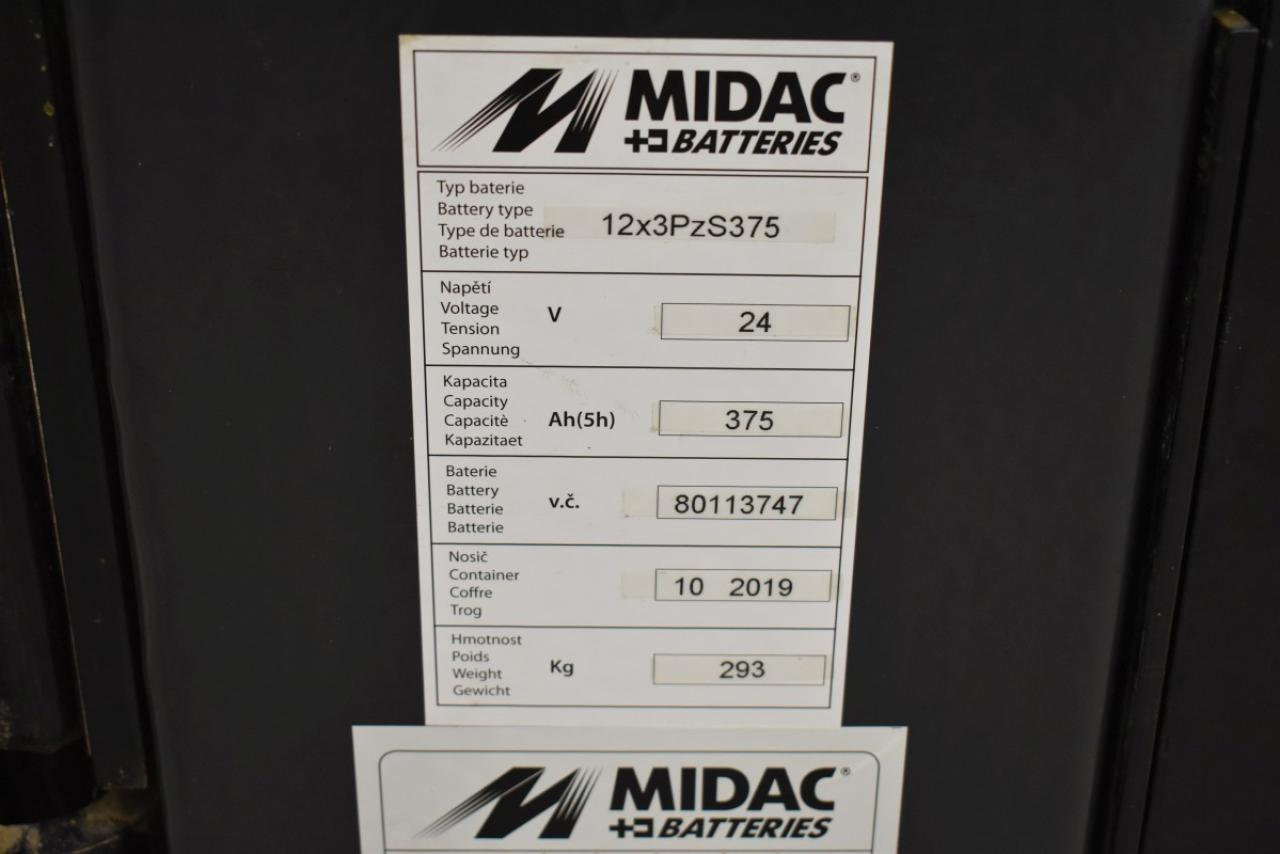 32712 CATERPILLAR NSV 12 N - AKU, 2008, pouze 683 mth, BAT 2019