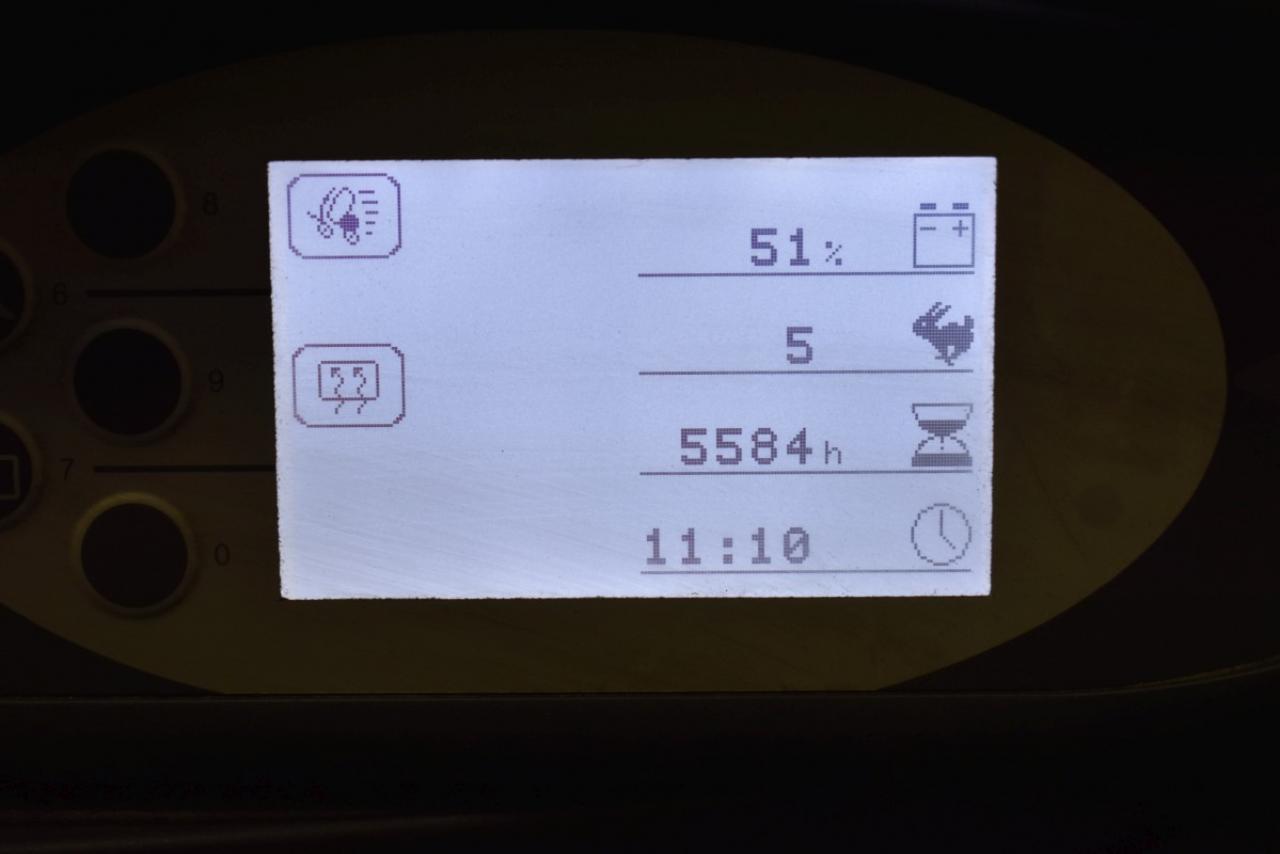 32738 STILL RX 60-50 - AKU, 2011, Kabina, BP+HSV, volný zdvih, Triplex, pouze 5584 mth, BAT 2017