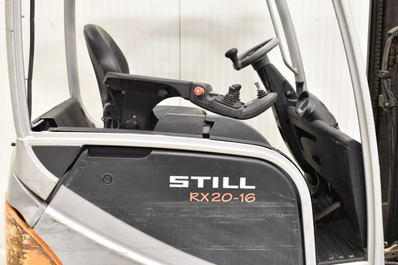 32742 STILL RX 20-16 - AKU, 2015, BP, volný zdvih, Triplex, pouze 4534 mth