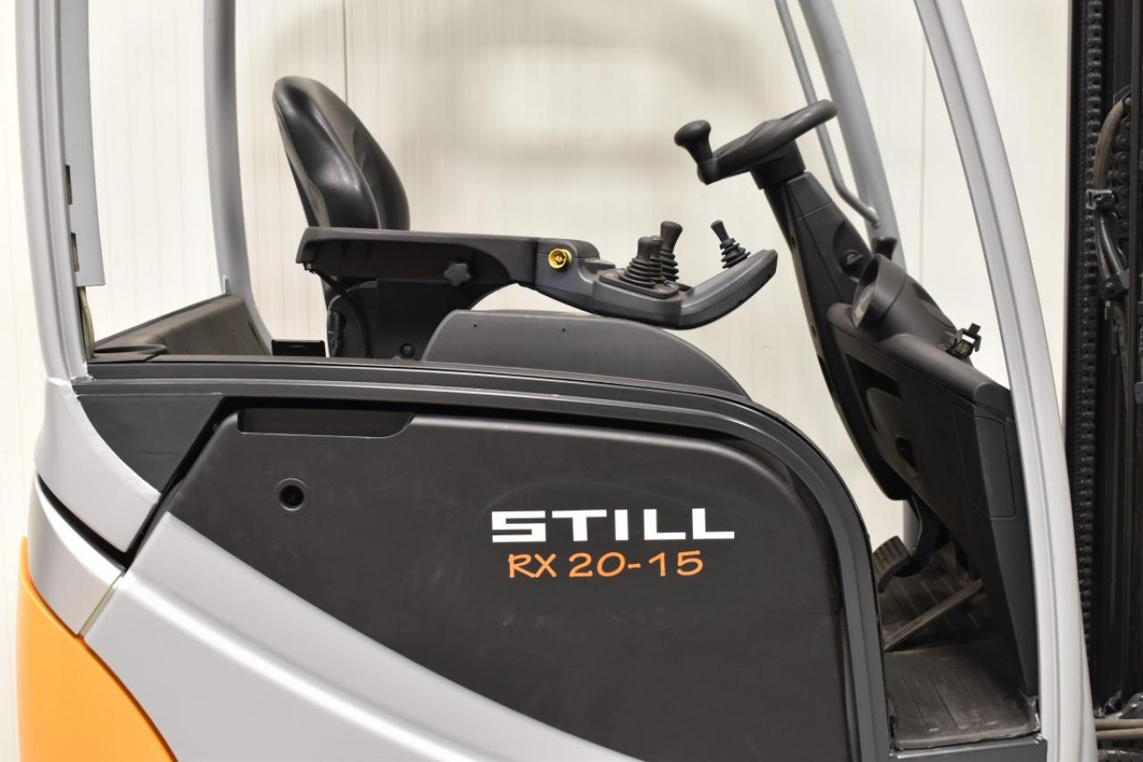 32744 STILL RX 20-15 - AKU, 2012, BP, volný zdvih, Triplex