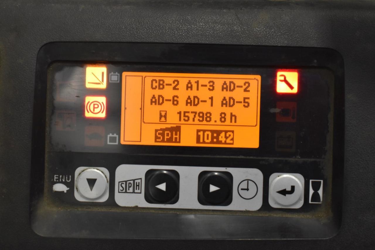 32775 TOYOTA 8FBET16 - AKU, 2013, BP, volný zdvih, Triplex