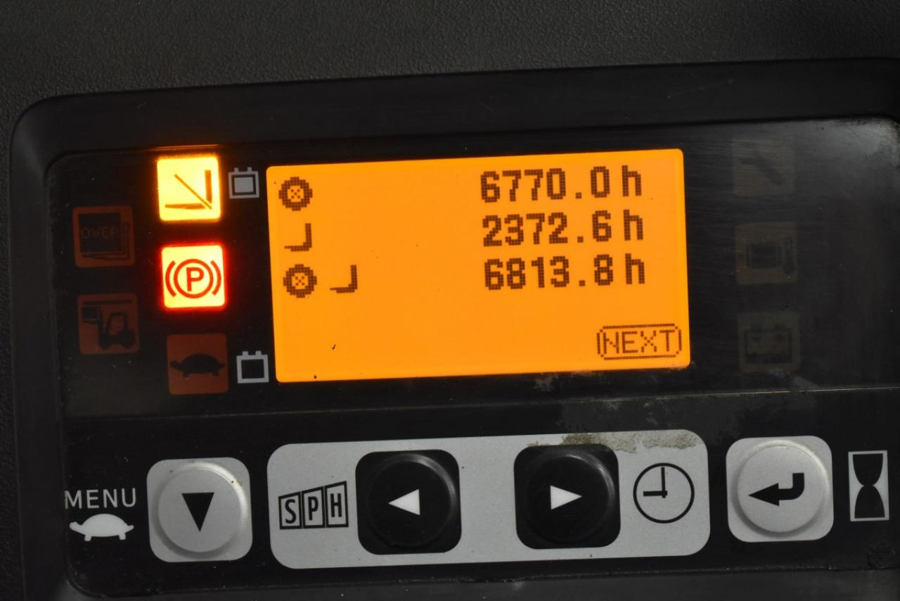 32778 TOYOTA 8FBET15 - Battery, 2015, SS, Free lift, TRIPLEX