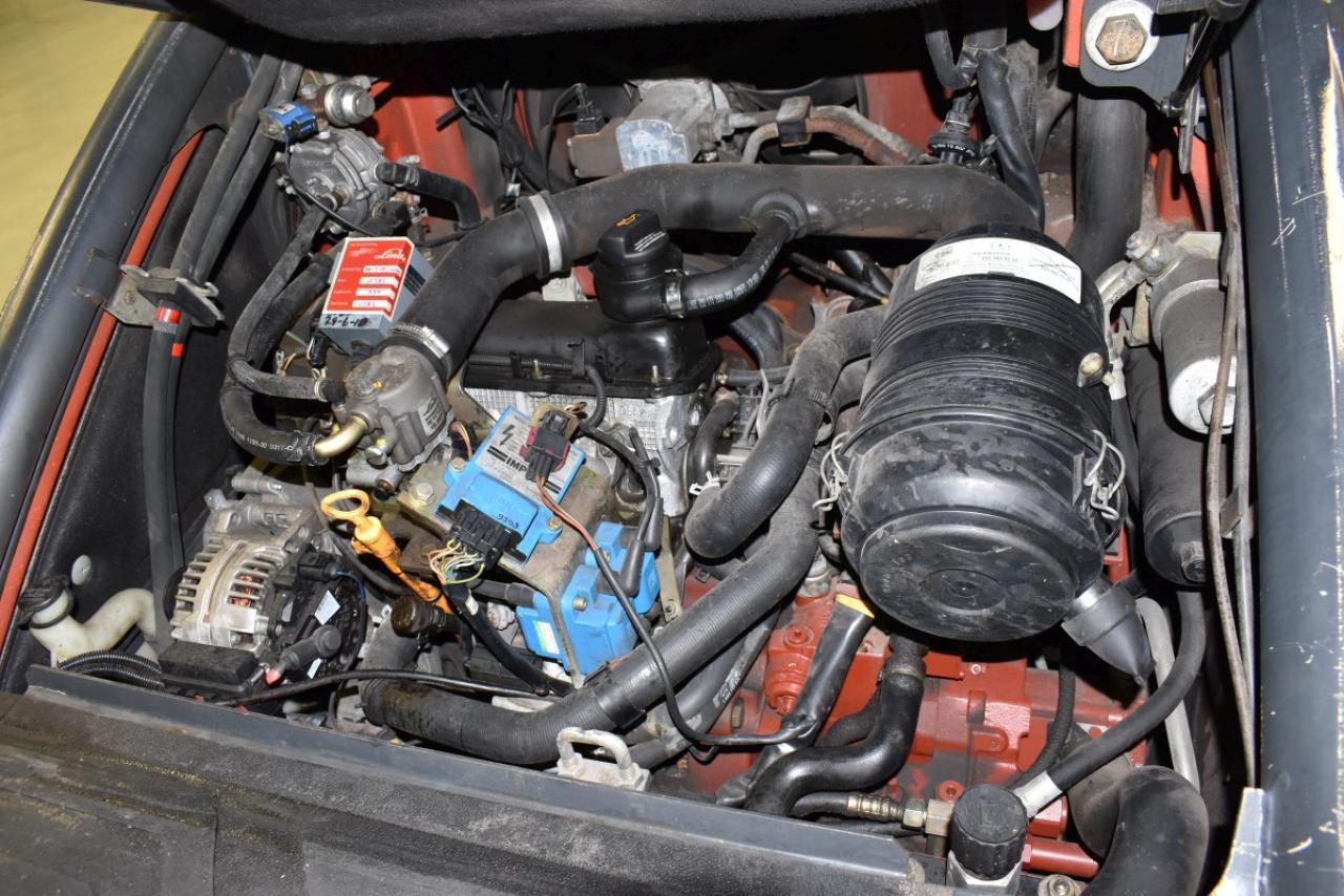 32810 LINDE H 25 T - LPG, 2005, polokabina, BP, Volný zdvih, Triplex
