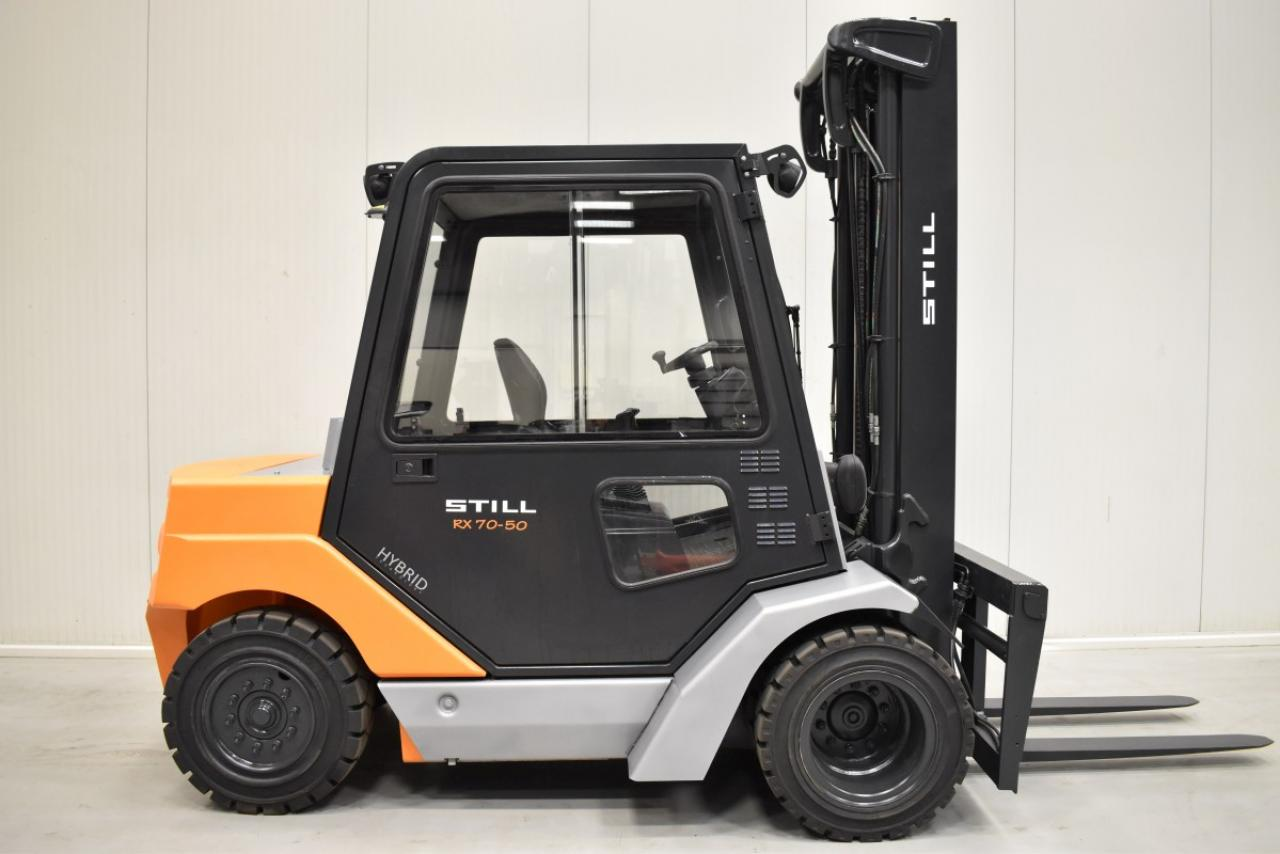 32853 STILL R 70-50 - Diesel, 2010, Kabina, BP+HSV, volný zdvih, Triplex
