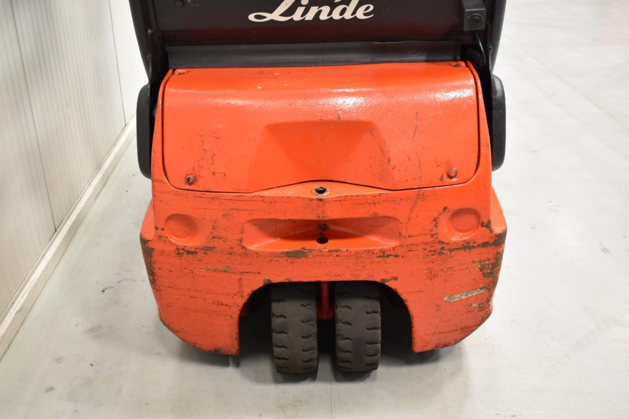 32867 LINDE E 16 C-02 - AKU, 2002, BP, volný zdvih, Triplex, pouze 4364 mth