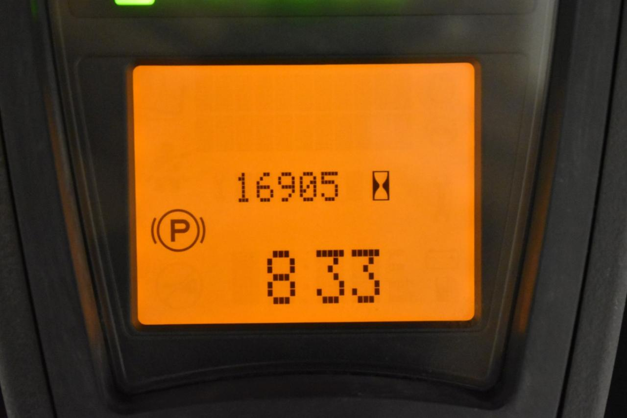 32930 LINDE E 14-02 - AKU, 2015, BP, volný zdvih, Triplex