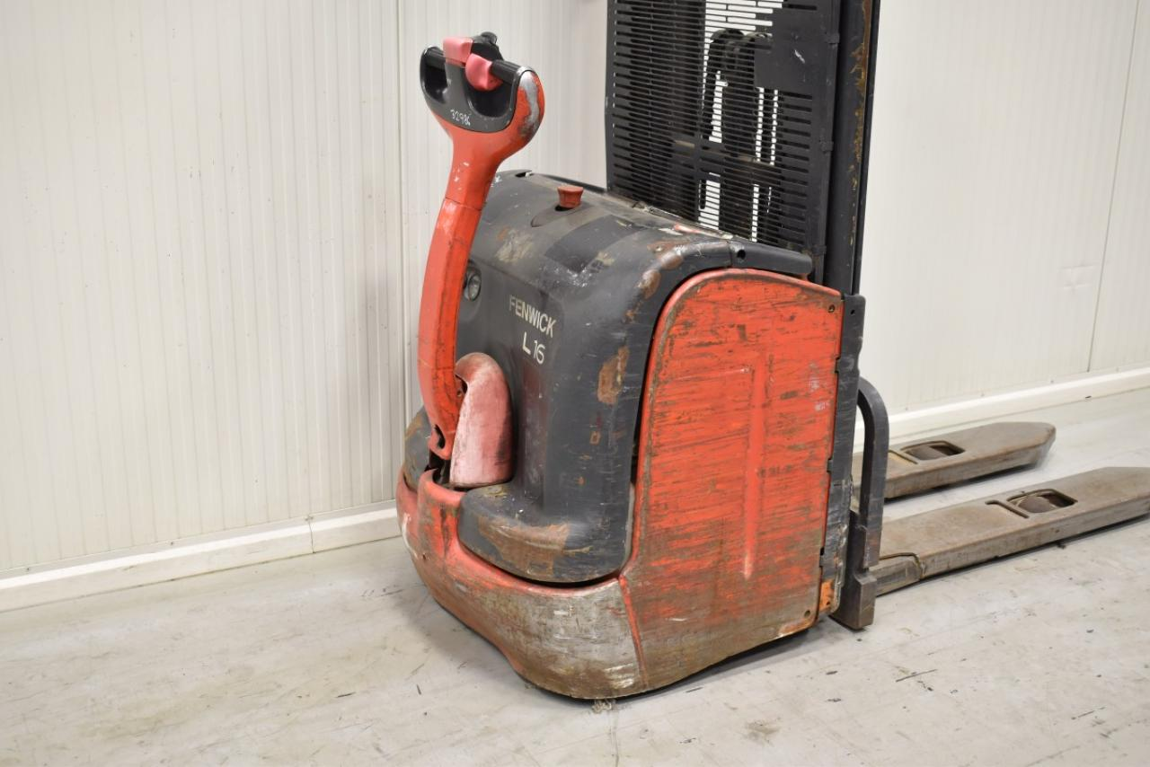 32986 LINDE L 16 - Battery, 2006, Free lift, TRIPLEX, only 5968 hrs