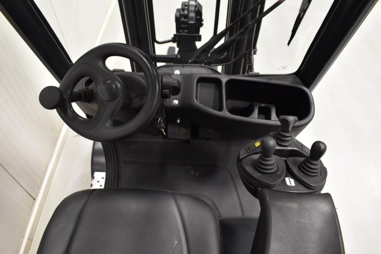 33000 LINDE H 14 T - LPG, 2007, BP, volný zdvih, Triplex