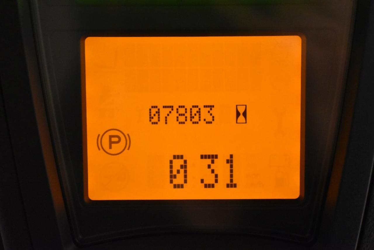 33029 LINDE E 16-02 - AKU, 2016, BP, Volný zdvih, Triplex