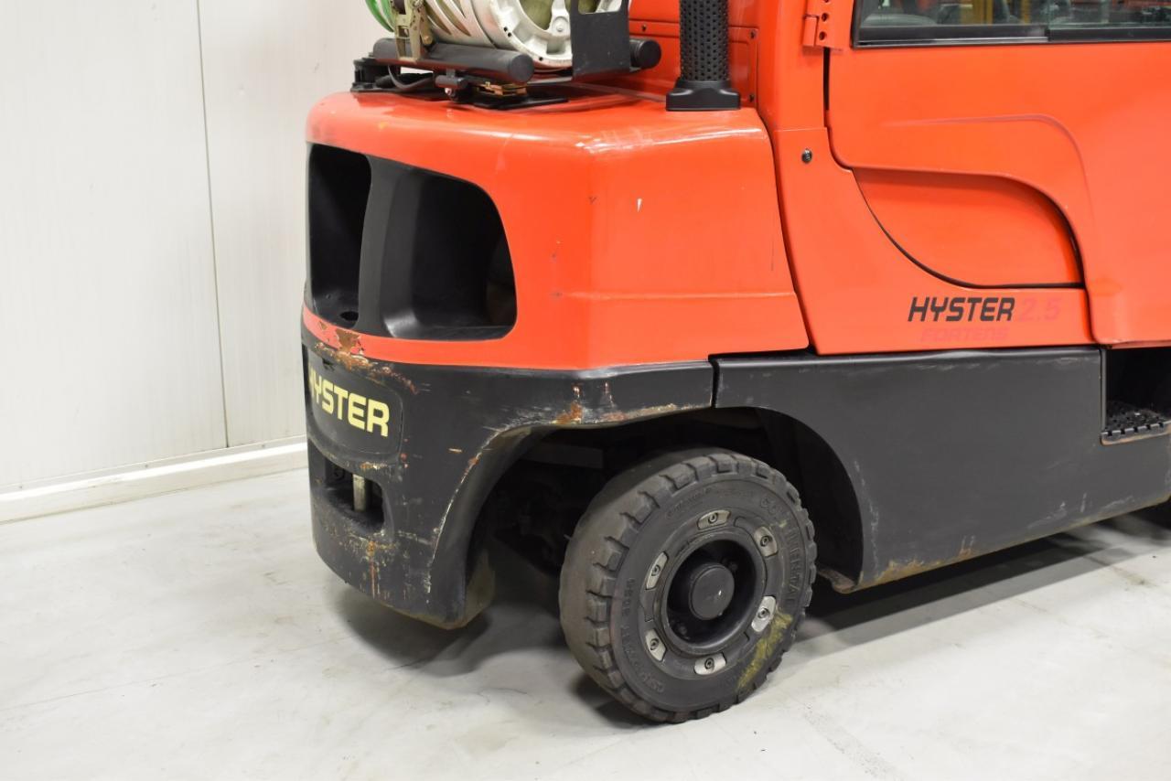 33050 HYSTER H 2.5 FT - LPG, 2011, Kabina, BP
