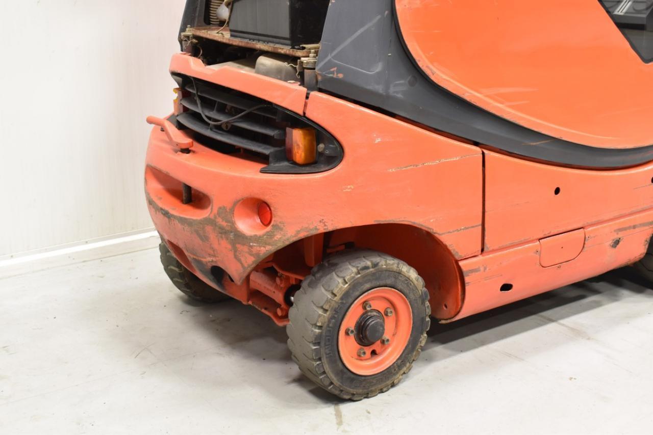 33067 LINDE H 16 D - Diesel, 1993, Kabina, BP, volný zdvih