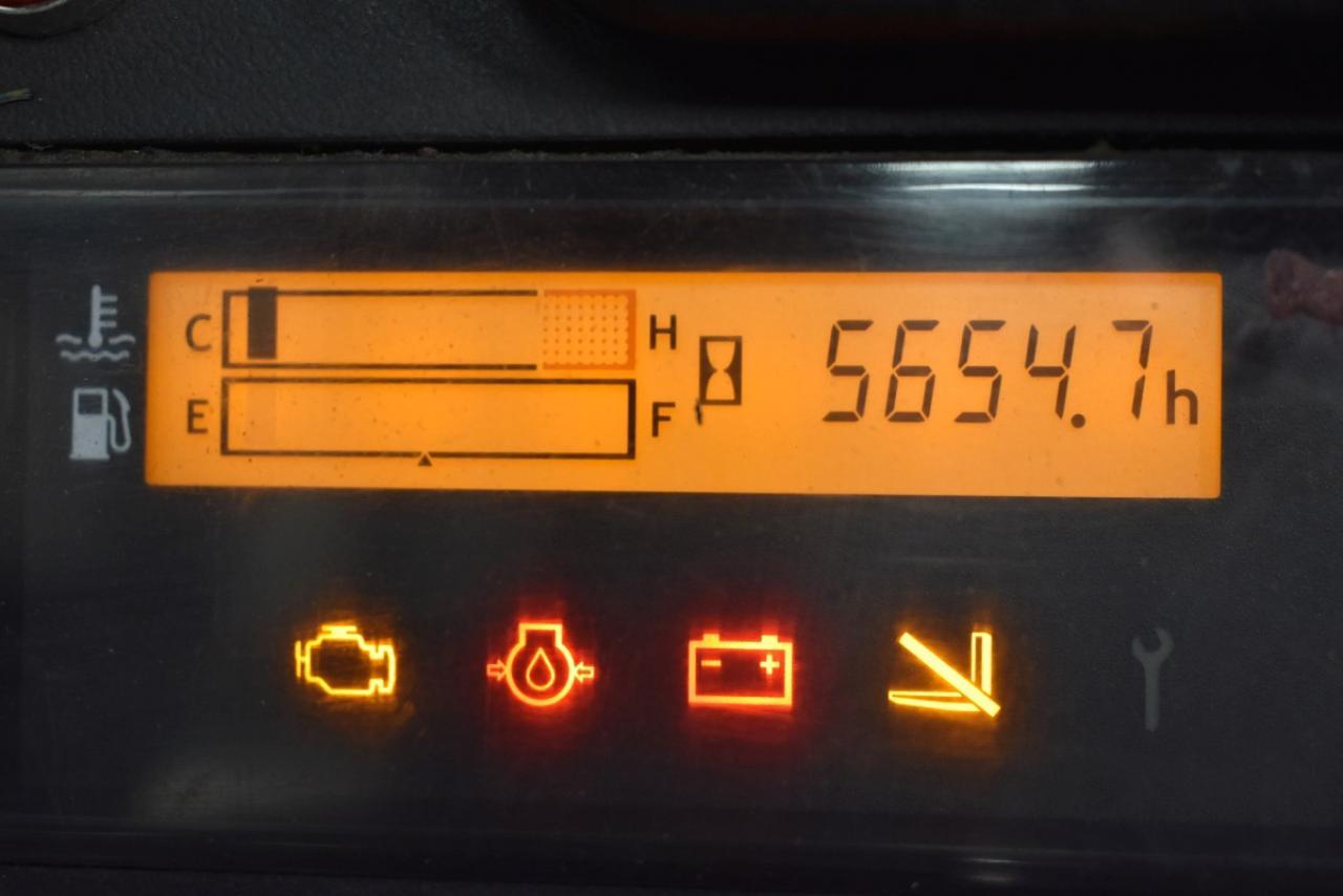 33077 TOYOTA 02-8FGJF35 - LPG, 2012, polokabina, BP, pouze 5654 mth