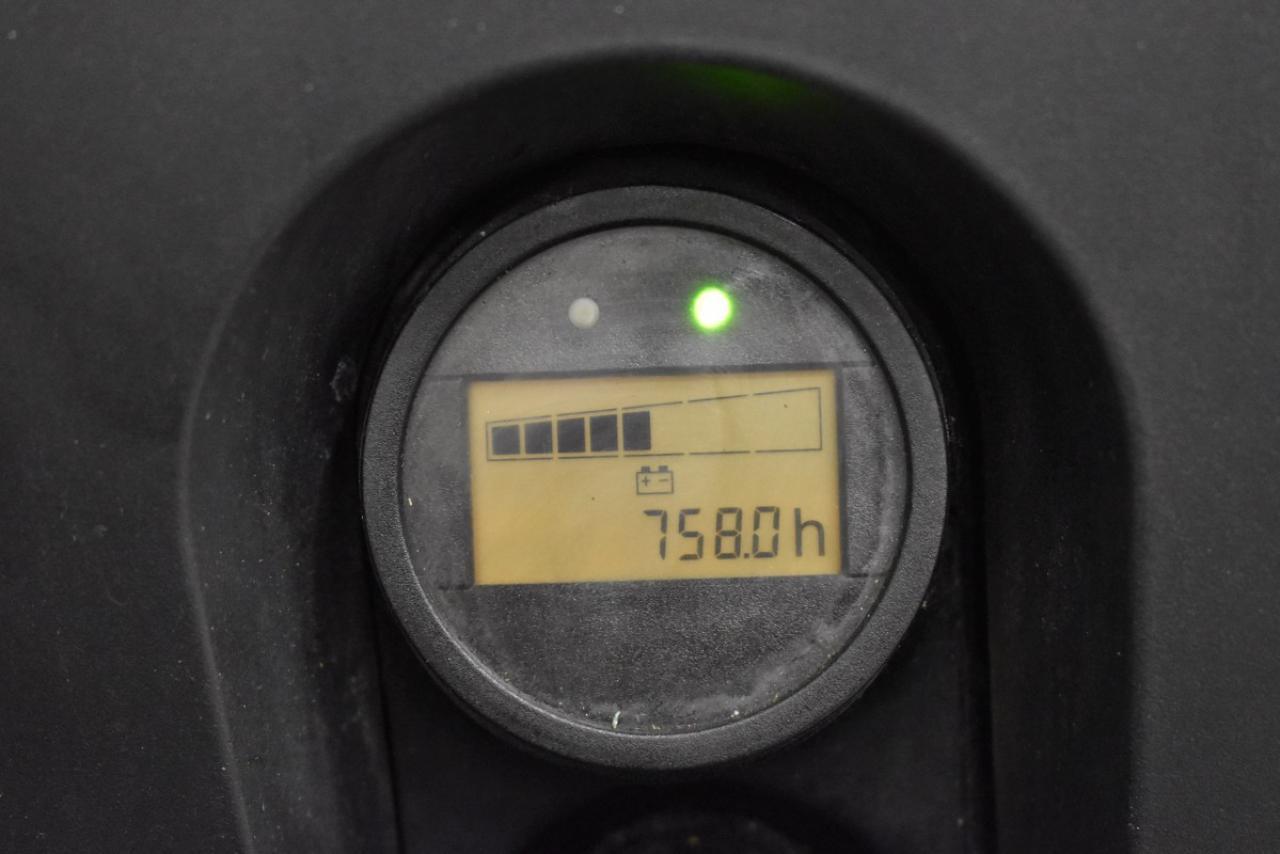 33105 STILL EXV 12 - AKU, 2014, volný zdvih, pouze 758 mth