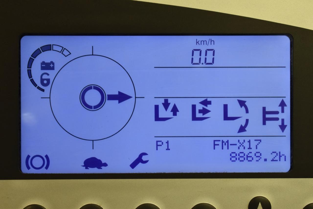 33107 STILL FM-X 17 - AKU, Retrak, 2014, BP, Volný zdvih, Triplex