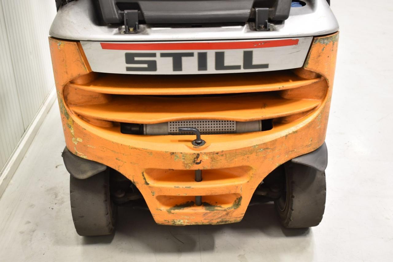 33129 STILL RX 70-16 - Diesel, 2013, polokabina, BP, volný zdvih, pouze 5504 mth