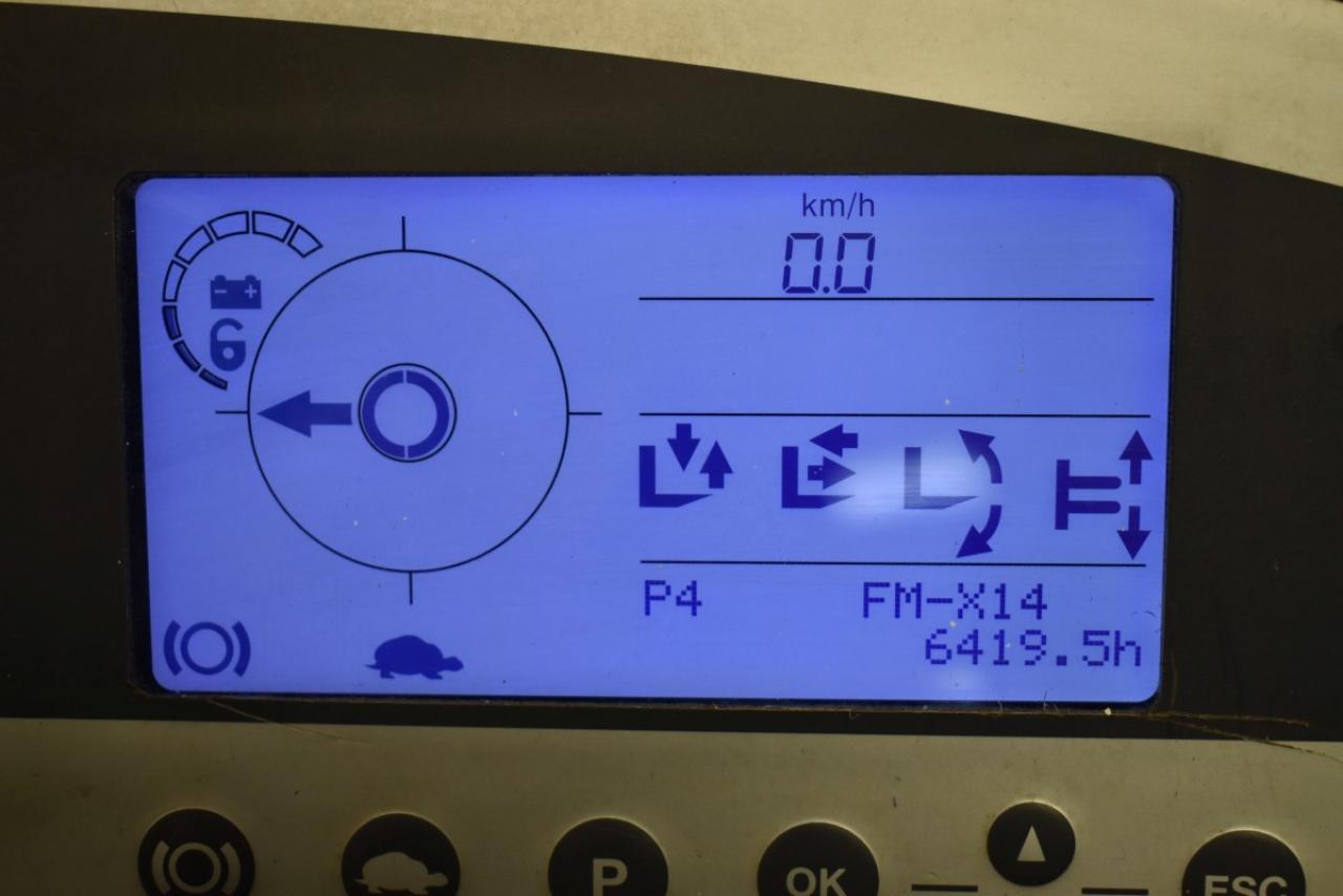 33131 STILL FM-X 14 - Battery, Reach truck, 2013, SS, Free lift, TRIPLEX, only 6419 hrs