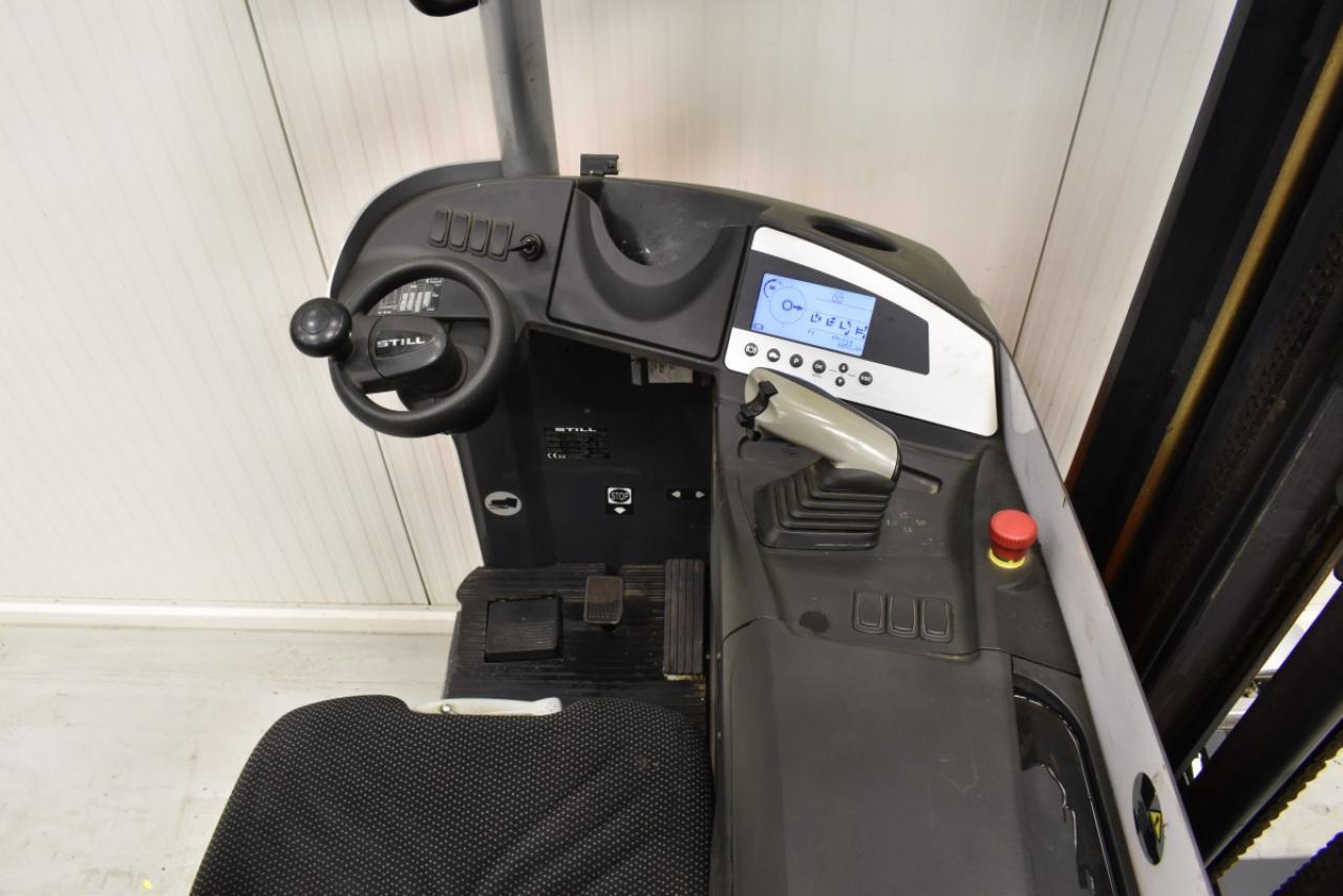 33132 STILL FM-X 14 - AKU, Retrak, 2013, BP, Volný zdvih, Triplex, pouze 6053 mth