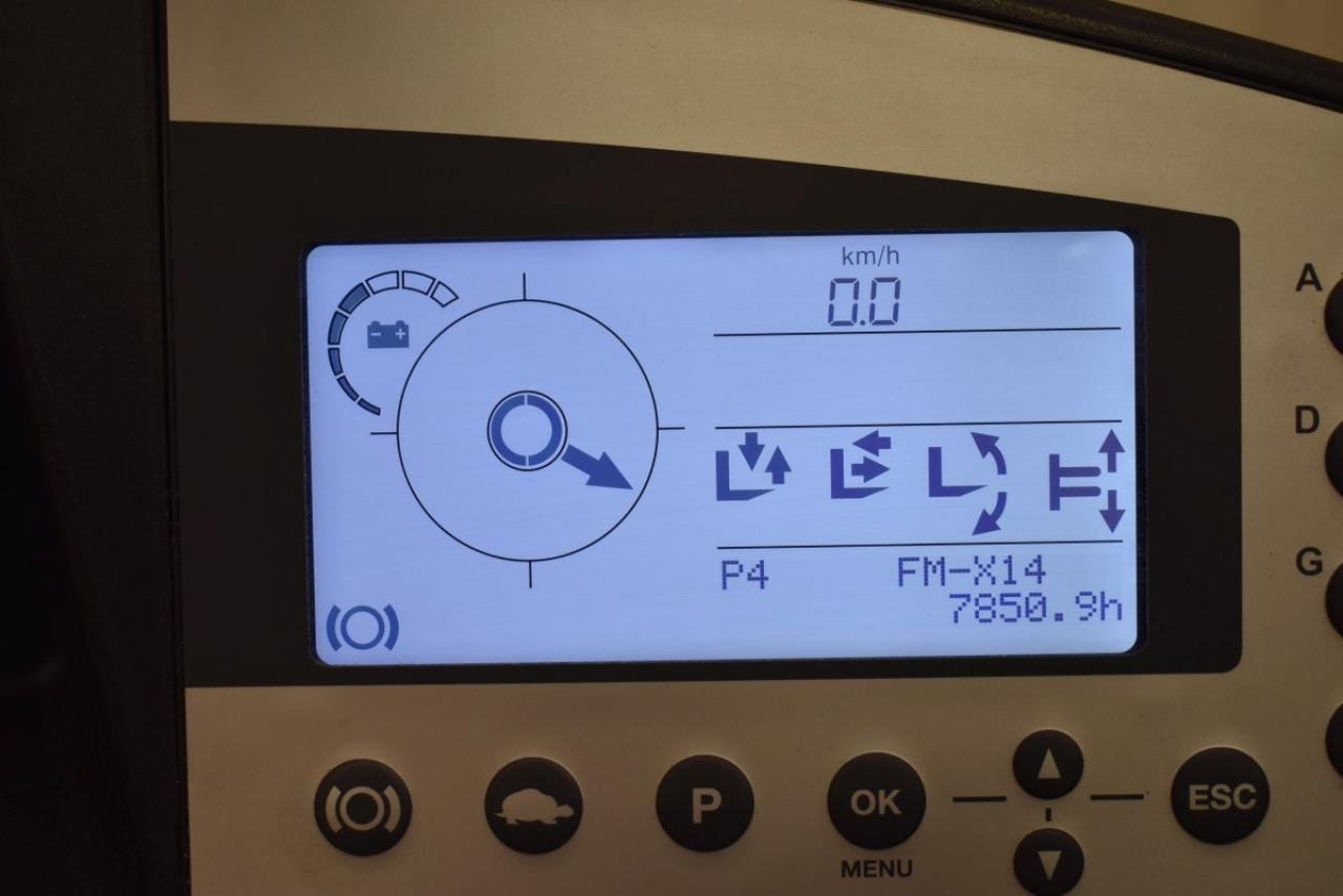 33133 STILL FM-X 14 N - AKU, Retrak, 2013, BP, volný zdvih, Triplex
