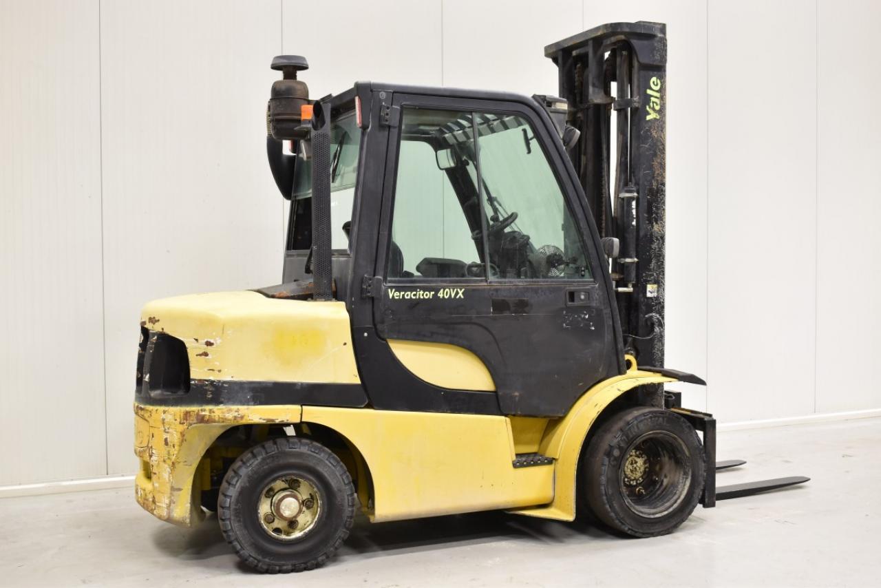 33153 YALE GDP 40 VX6 - Diesel, 2008, Kabina