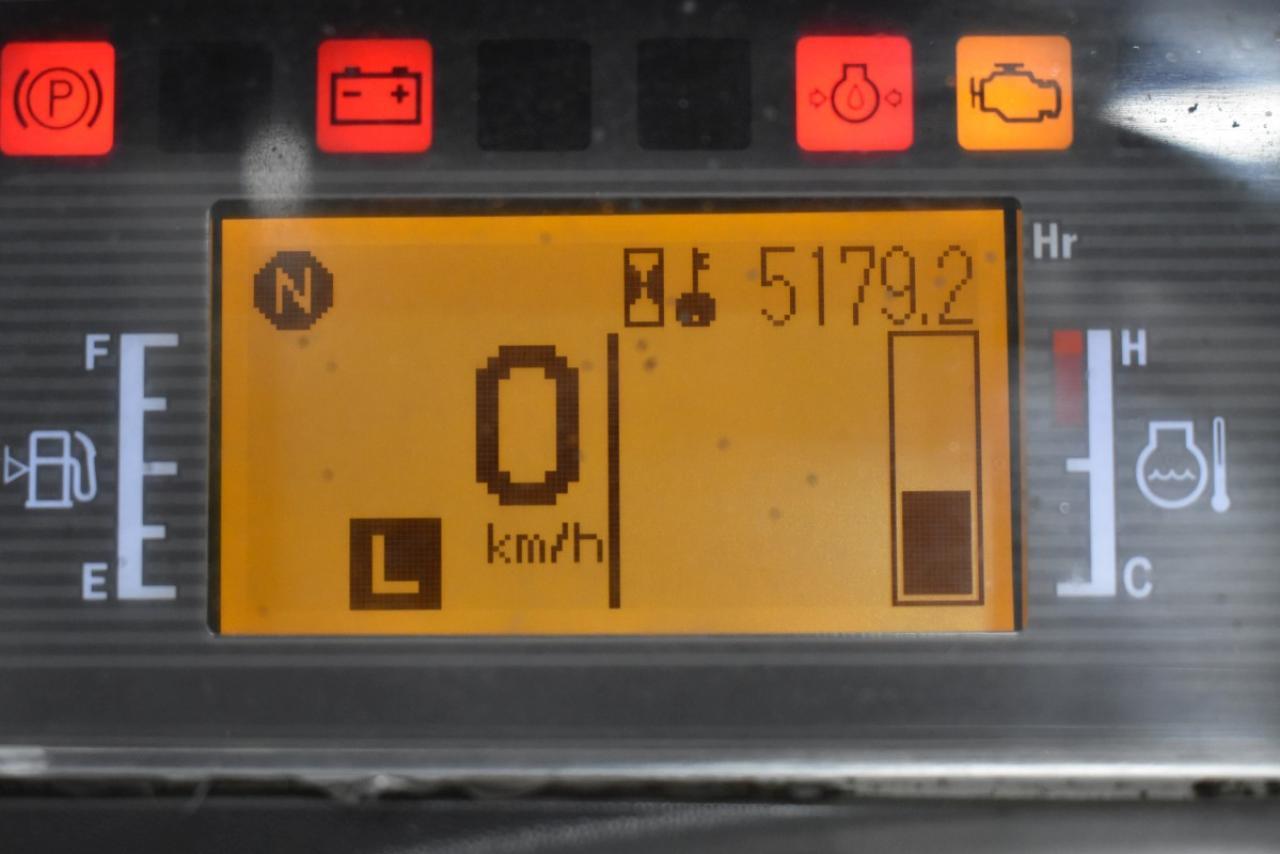 33161 CATERPILLAR GP 35 NT - LPG, 2013, BP, pouze 5176 mth