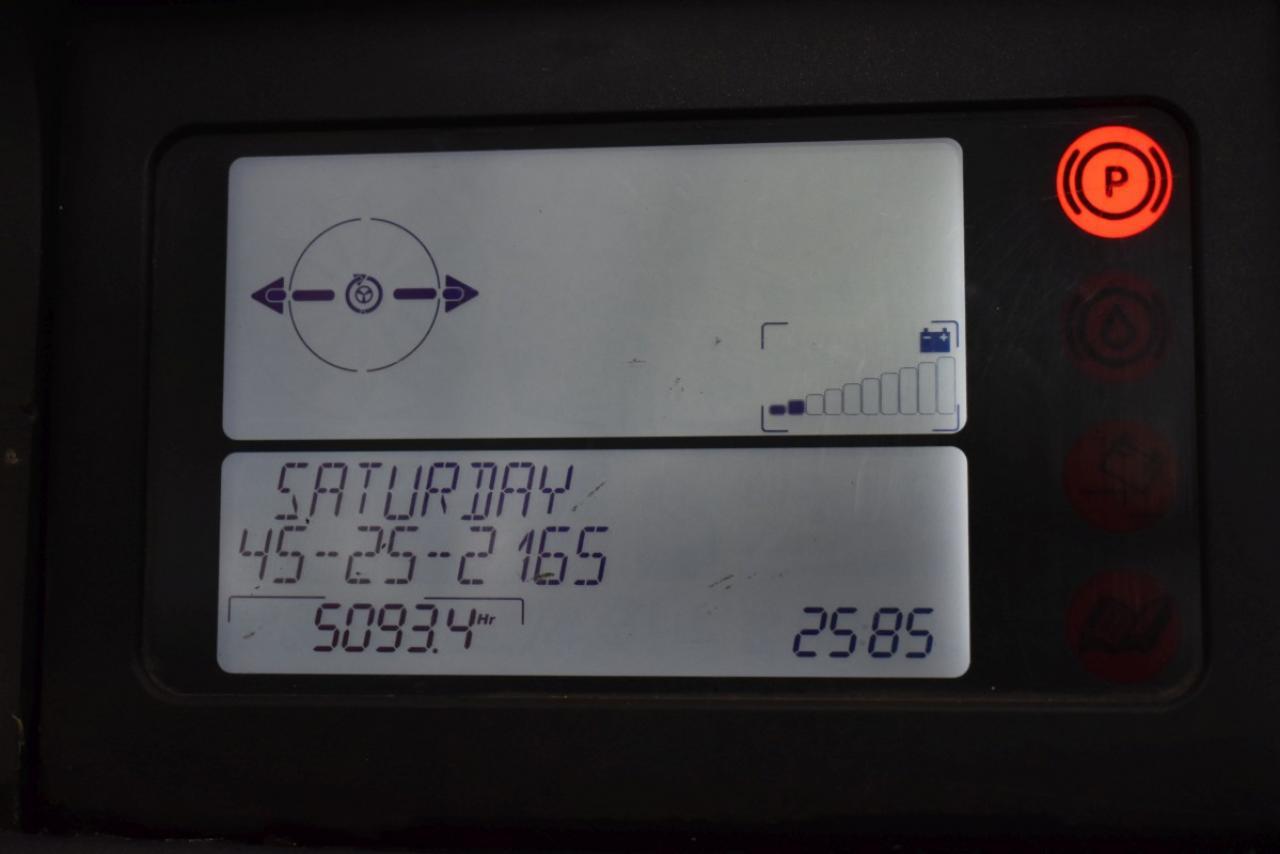 33181 LINDE R 16 SHD-12 - AKU, Retrak, 2012, BP, volný zdvih, Triplex, pouze 5093 mth