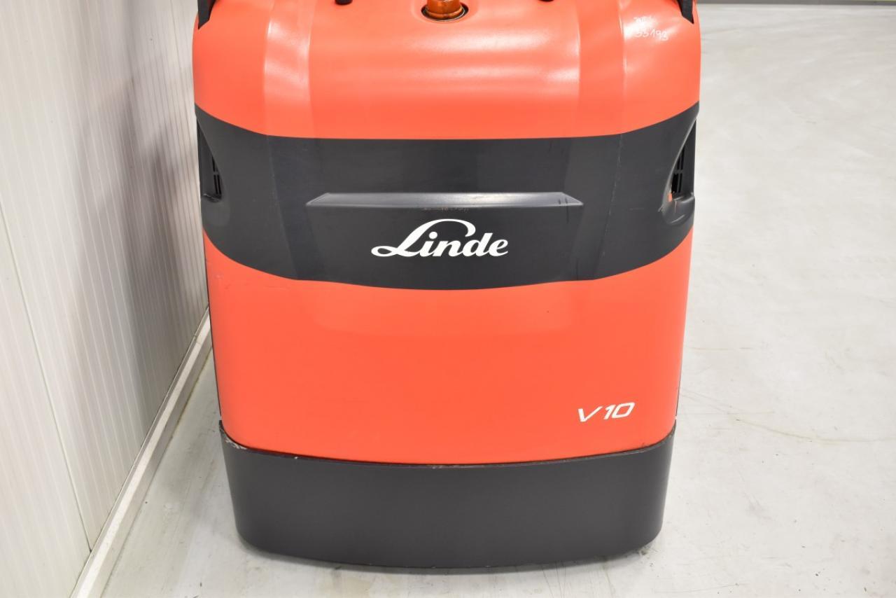 33193 LINDE V 10 - Battery, 2011, only 4694 hrs