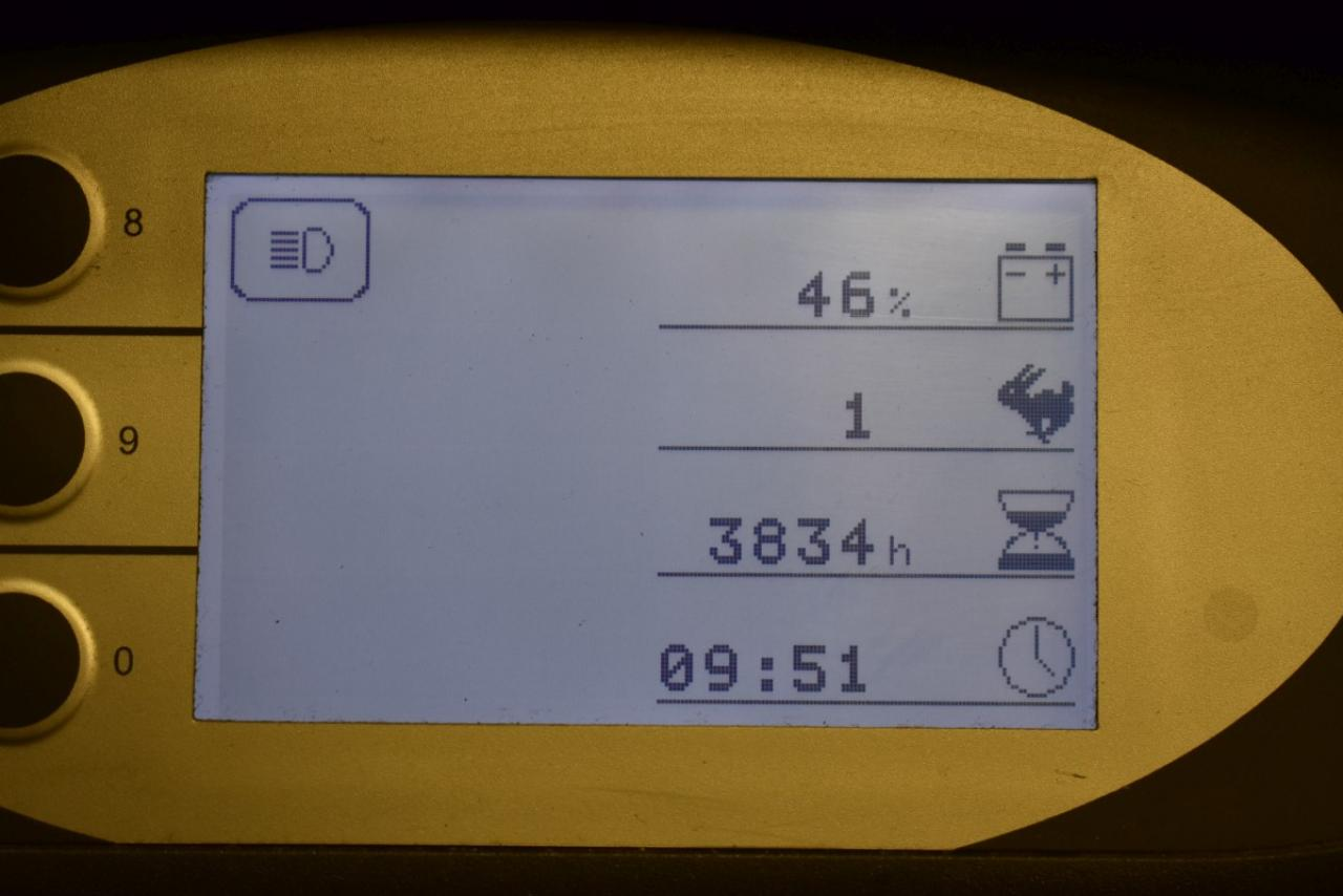 33214 STILL RX 20-16 - AKU, 2010, BP, volný zdvih, Triplex, pouze 3834 mth, BAT 2013