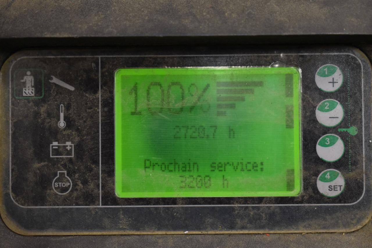 33226 LINDE L 12 LAP - AKU, 2012, přízdvih, pouze 2720 mth