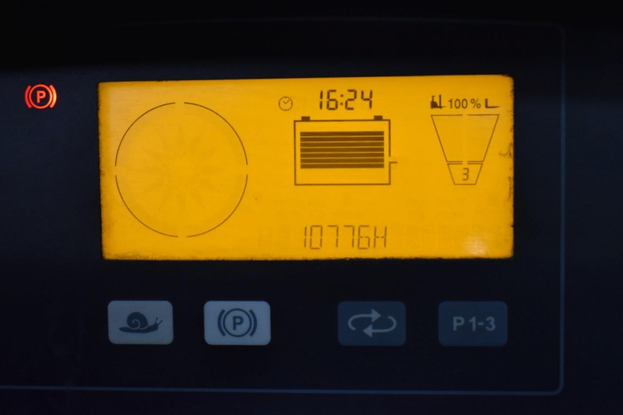 33266 JUNGHEINRICH ETV 214 - AKU, Retrak, 2010, BP, Volný zdvih, Triplex, BAT 2015