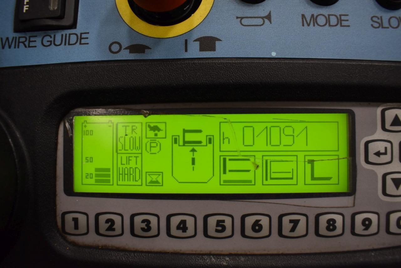 33287 HYSTER C 1.5 SWB - AKU, 2012, Triplex, pouze 1092 mth