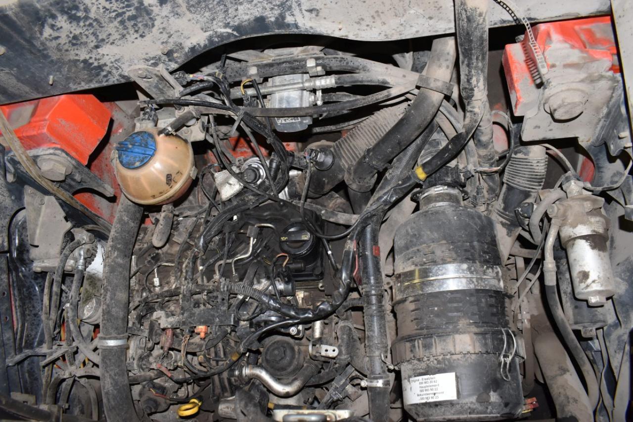 33303 LINDE H 50 D-02 - Diesel, 2014, zvýšená kabina, BP, pouze 6520 mth