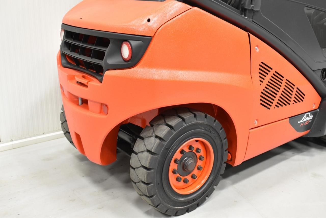 33305 LINDE H 40 D-02 - Diesel, 2013, Kabina, BP