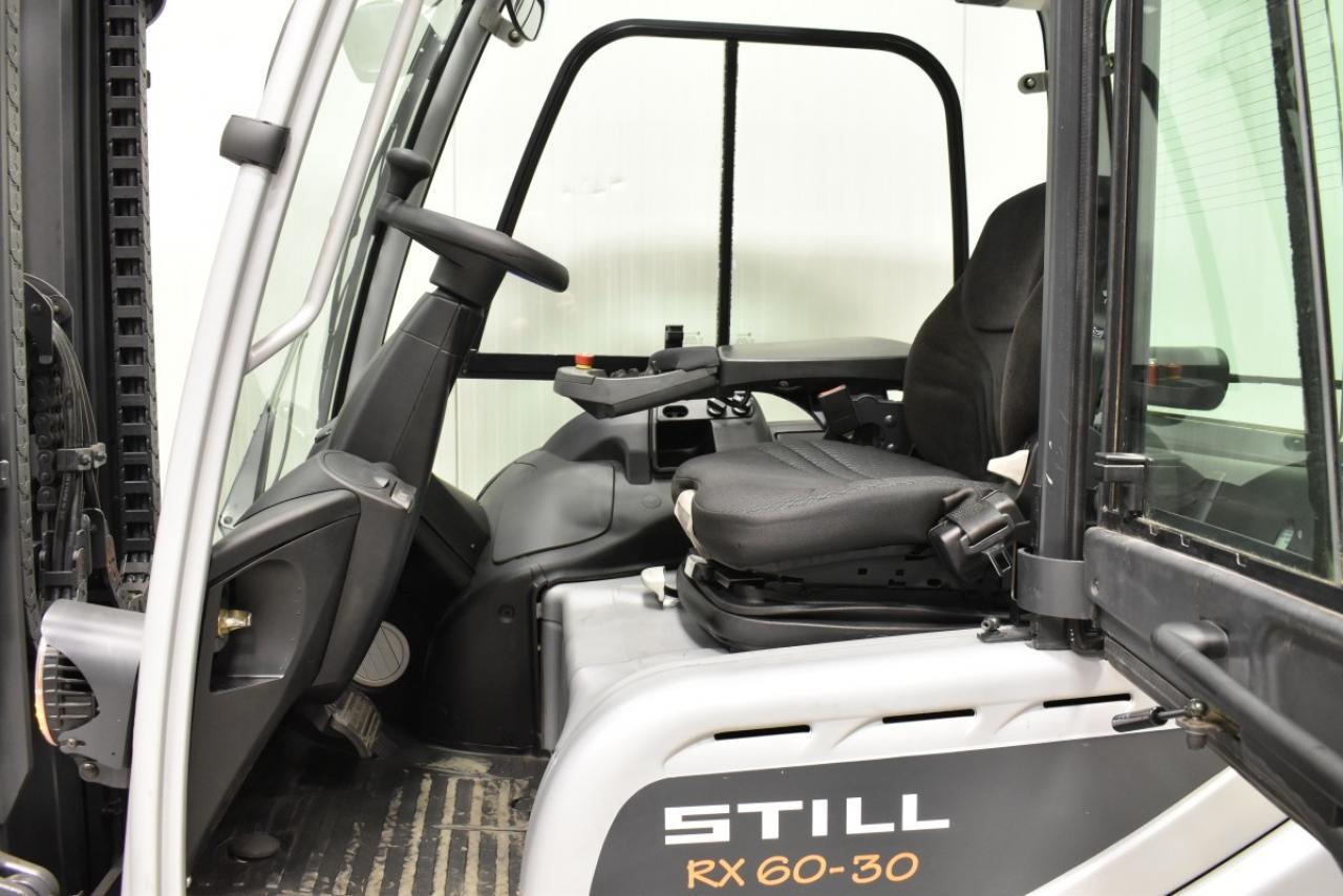 33368 STILL RX 60-30 - Battery, 2013, Cabin, SS+FP, Free lift, BATT 2016