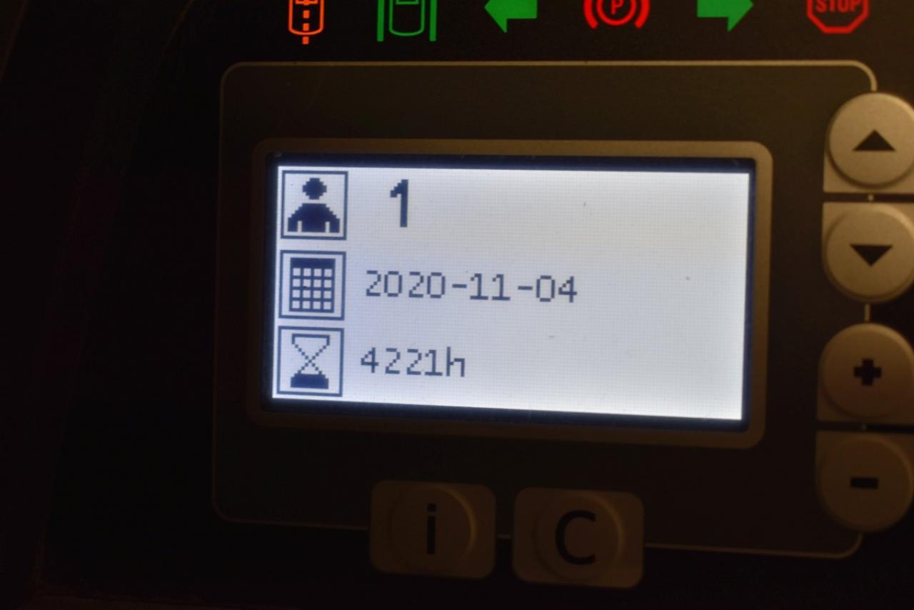 33376 BT RRE 160 - AKU, Retrak, 2015, BP, Volný zdvih, Triplex, pouze 4221 mth