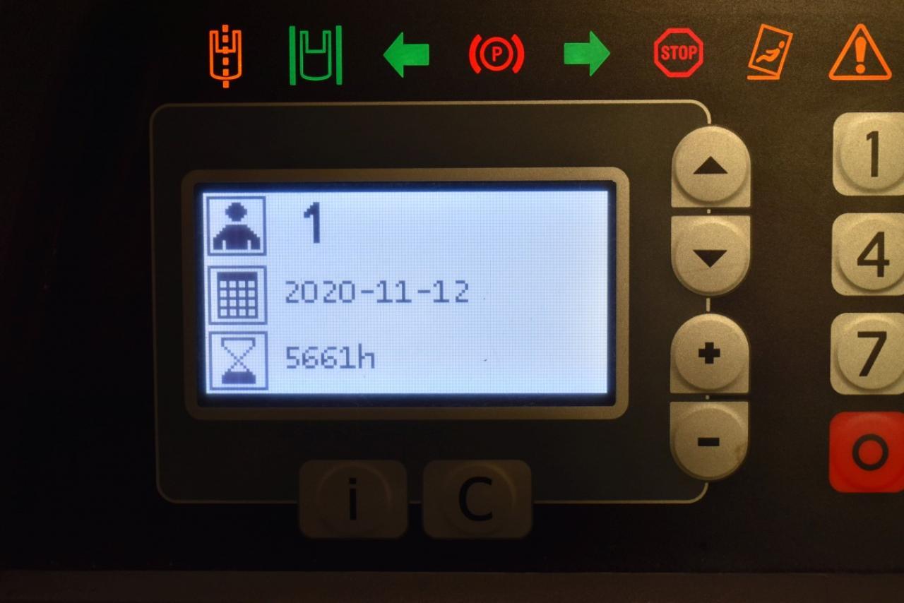 33378 BT RRE 160 - AKU, Retrak, 2014, volný zdvih, Triplex, pouze 5661 mth